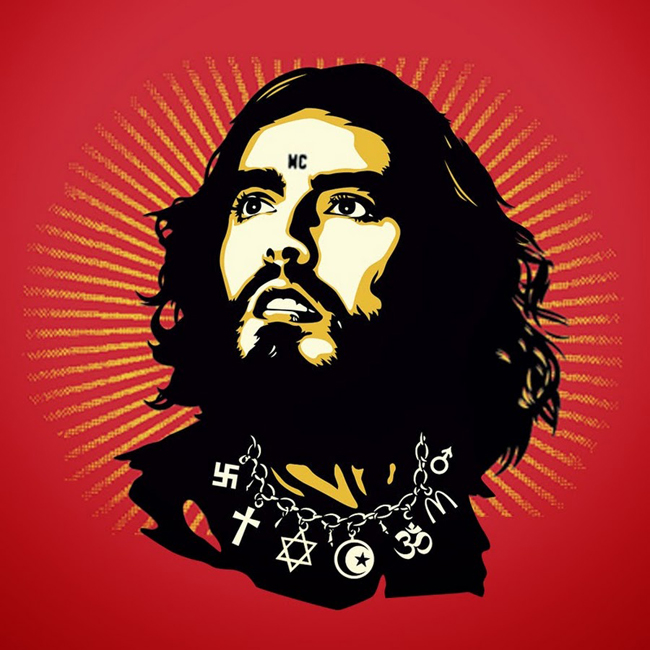 De messias in Russell Brand