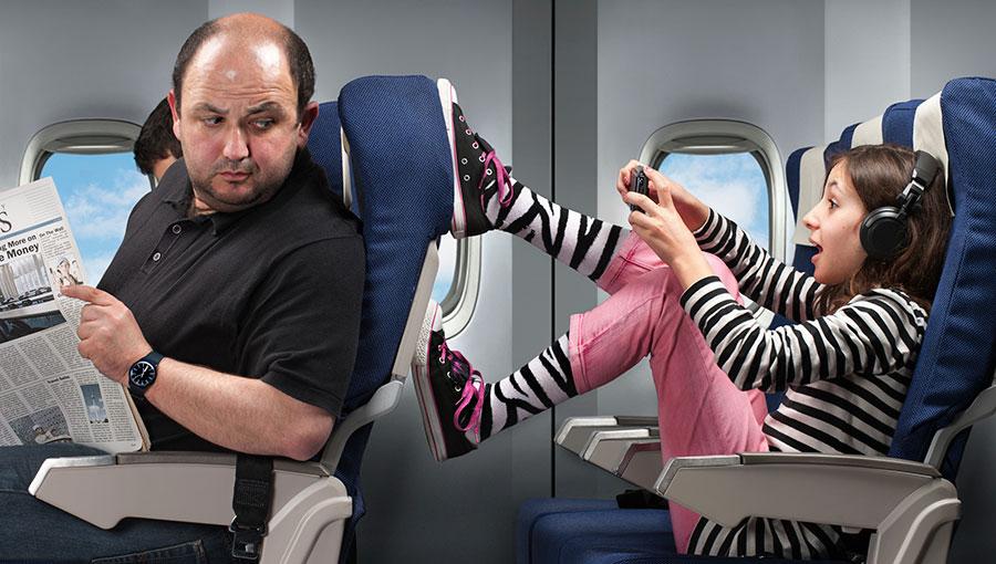 Believe me, I'm an air hostess
