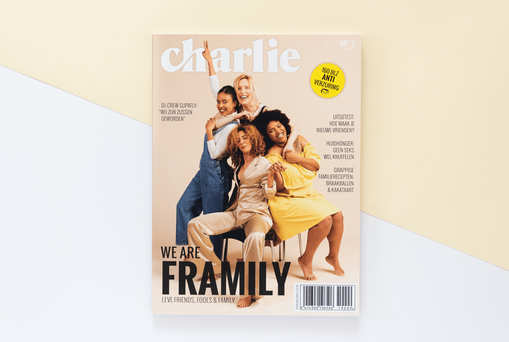 We are f(r)amily: een ode aan friends, fools & family