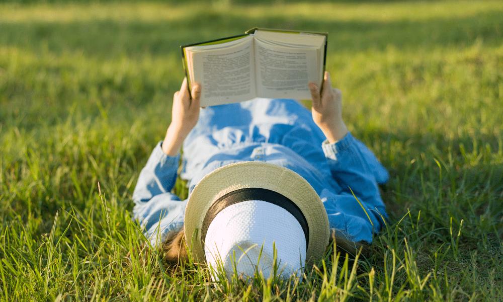 De zonovergoten boekentips van Charlie